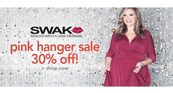 Shop SWAK Pink Hanger Sale