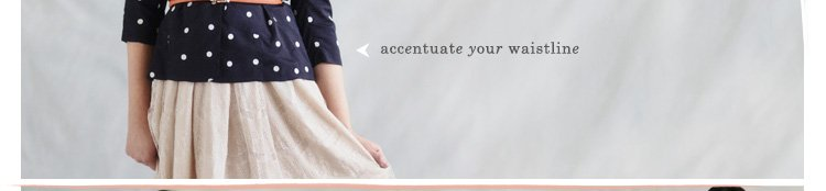 Accentuate Your Waist