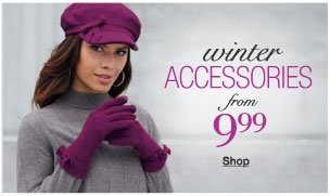 Winter Accessories from 9.99