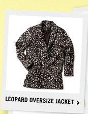 Leopard Oversize Jacket
