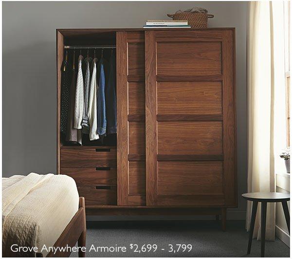 Grove Anywhere Armoire $2,699-3,799