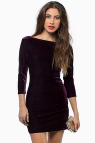 Cruel Intentions Velour Dress 29