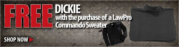 Free Dickie With Your LawPro Sweater