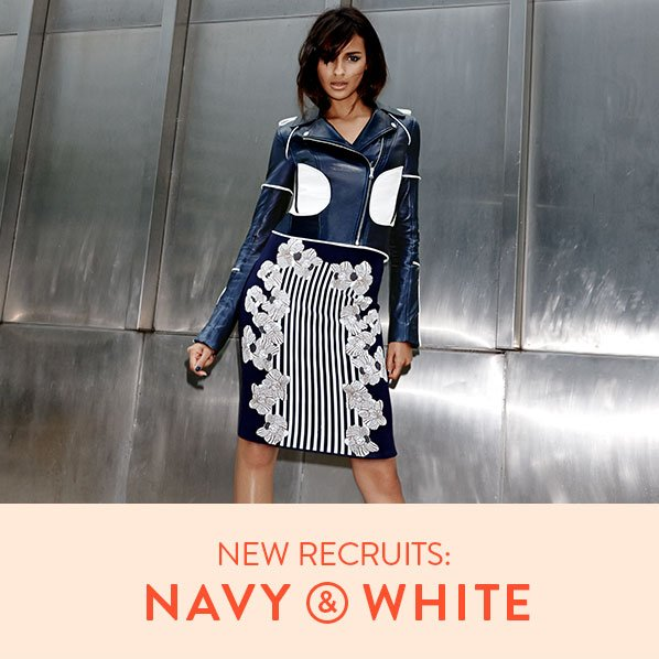 NEW RECRUITS: NAVY & WHITE