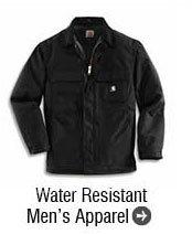 Water Resistant Men's Apparel