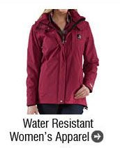 Water Resistant Women's Apparel