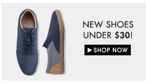 New shoes under $30!