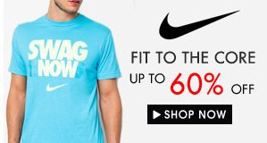 Up to 60% off Nike!