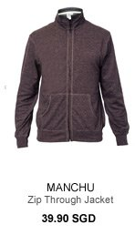 Manchu Zip Through Jacket