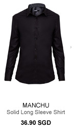 Manchu Solid Long Sleeve Shirt
