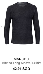 Manchu Knitted Long Sleeve Tee