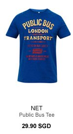 NET Public Bus Graphic Tee