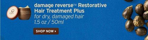 damage reverse Restorative Hair Treatment Plus for dry damaged hair  SHOP NOW