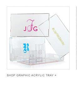 Shop Graphic Acrylic Tray