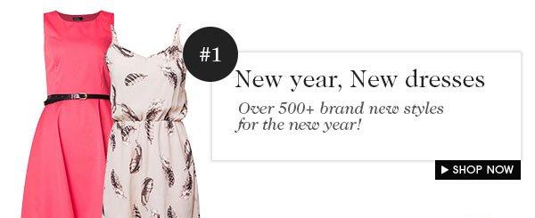 New year, new dresses