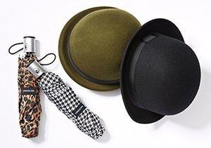 Ready to Go: Umbrellas & Hats