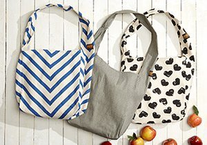 Ready to Go: Shoppers & Canvas Totes