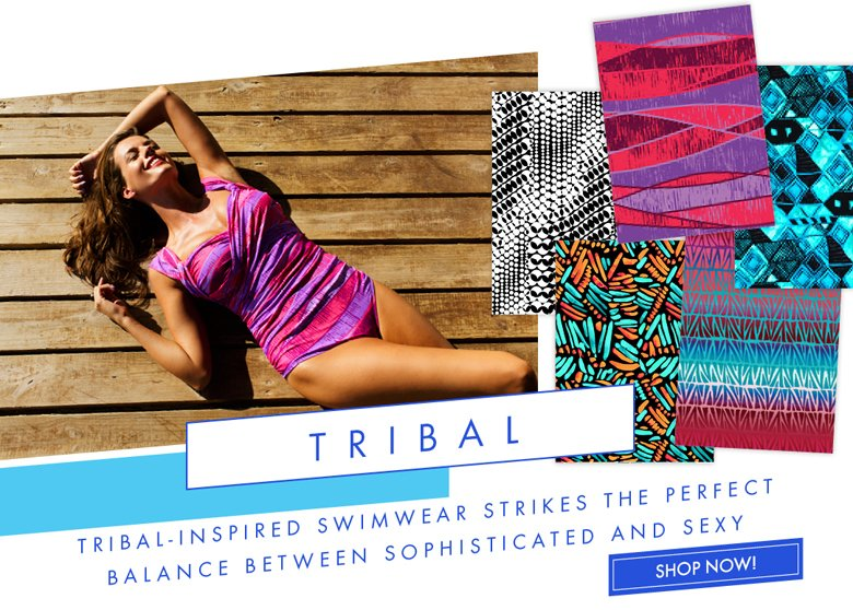 Tribal-inspired Swimwear Strikes the perfect balance bet sophisticated and sexy