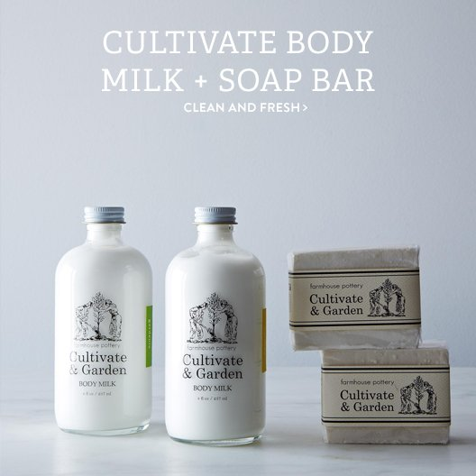 Body Milk + Soap Bar