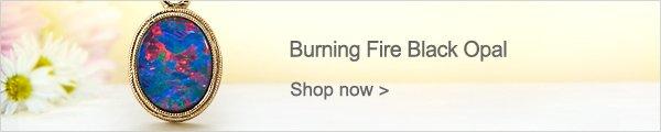 Burning Fire Black Opal