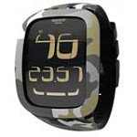 Swatch SURB105 Unisex Touch Camouflage Digital Dial Rubber Strap Chronograph Alarm Watch