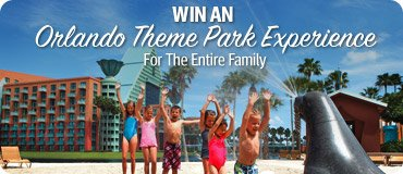 Win An Orlando Theme Park Experience For The Entire Family!