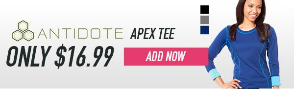 Antidote Apex Tee - Add Now