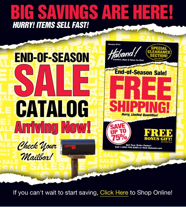 Sale Catalog Arriving Now!