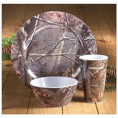 12-Pc. Realtree® Melamine Dish Set