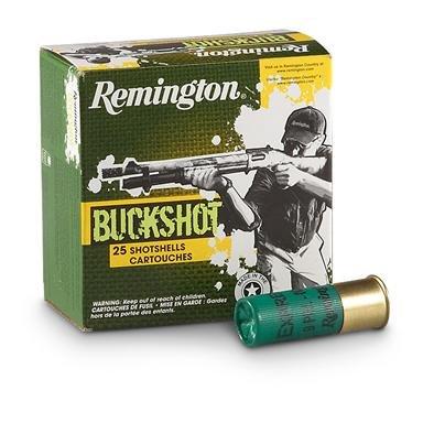 """12 gauge 2 3/4"""" Buckshot"""