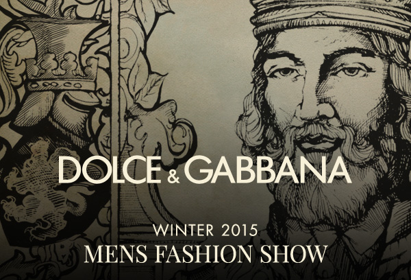 Dolce & Gabbana MENS FASHION SHOW