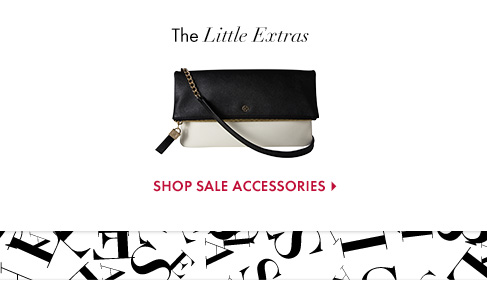 The Little Extras  SHOP SALE ACCESSORIES
