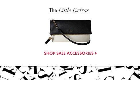 The Little Extras  SHOP SALE ACCESSORIES