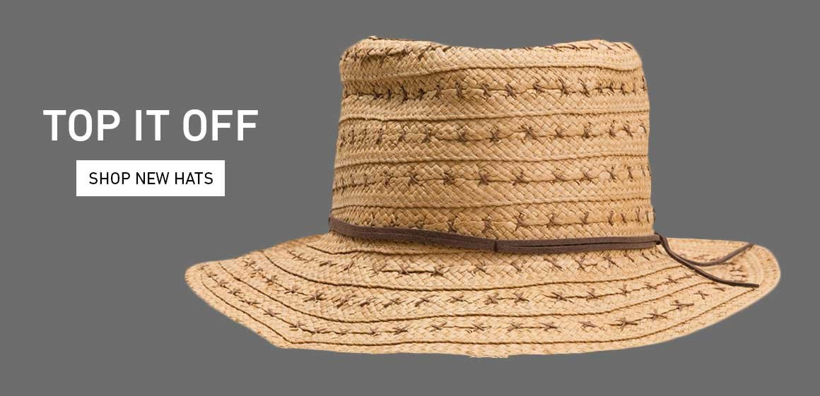 Top It Off: Shop New Hats
