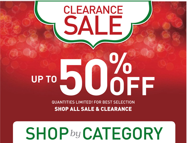 Shop All Sale and Clearance
