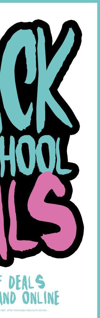 Shop Mens Back To School Deals