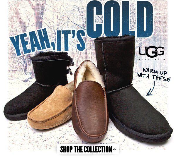 Warm up with UGG Australia. Shop the collection at Journeys!