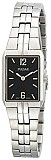 Pulsar PTA415 Women's Dress Stainless Steel Bracelet Black Dial Watch