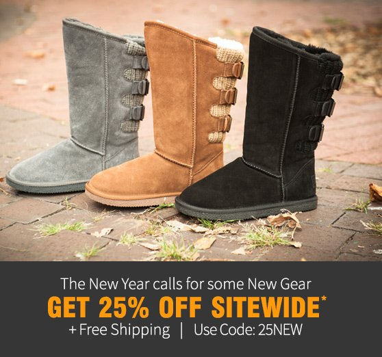 Get 25% OFF Sitewide + Free Shipping