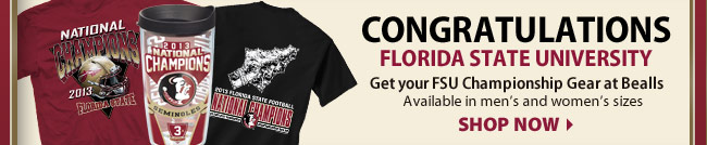 Get your FSU National Championship Gear