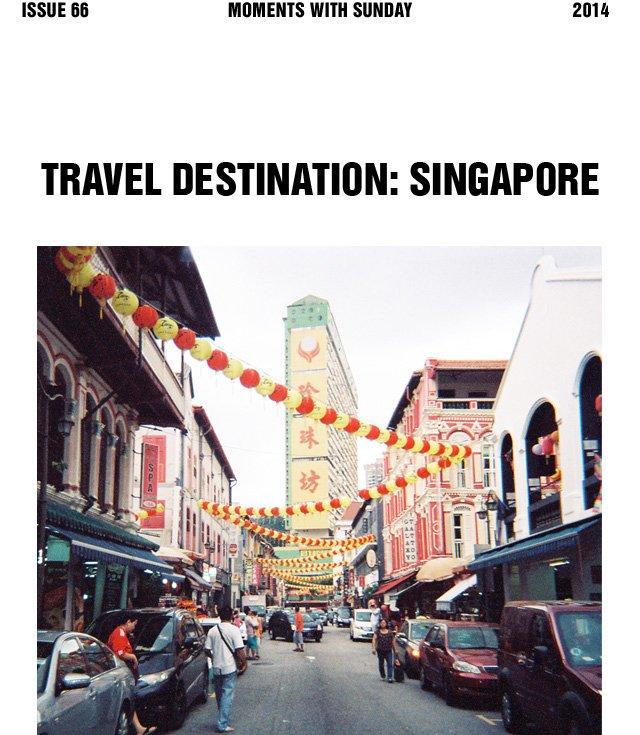 Travel Destination: Singapore