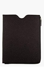 MAISON MARTIN MARGIELA SSENSE EXCLUSIVE Black Glitter iPad Case for men