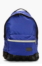 KRISVANASSCHE Navy Nylon Backpack for men