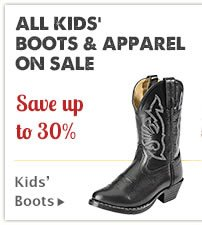 All Kids Boots and Apparel on Sale
