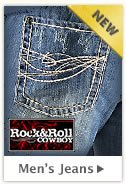 Mens Rock and Roll Cowboy Jeans