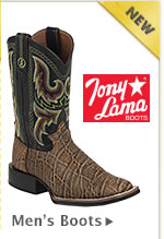 New Mens Tony Lama Boots
