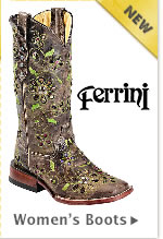 New Womens Ferrini Boots