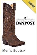 New Mens Dan Post Boots