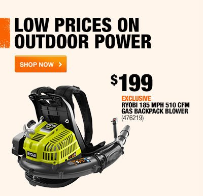 LOW PRICES ON OUTDOOR POWER.