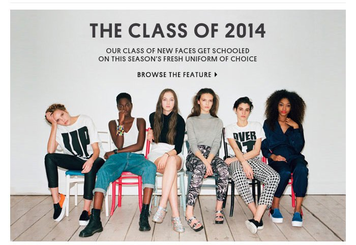 THE CLASS OF 2014 - BROWSE THE FEATURE